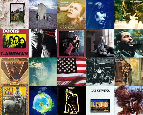This image has an empty alt attribute; its file name is 1971-albums1.jpg